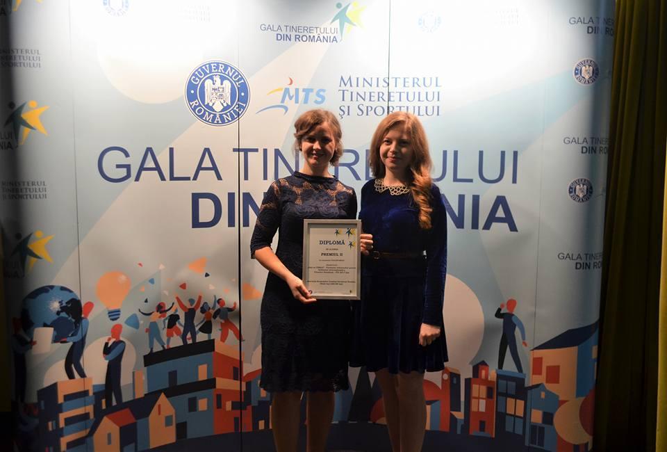 """ascor_iasi_Proiectul """"IAși cu TINEri"""" la Gala Tineretului din România"""